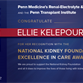 In Recognition Of WIN Members: Dr. Ellie Kelepouris